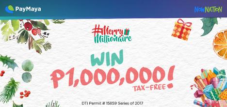 Paymaya Merry Millionaire 2017