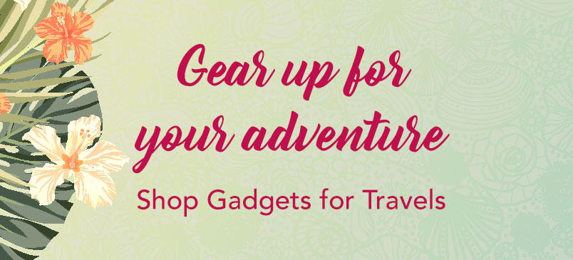 Summer Style Guide: Gadgets for Travel