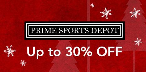 Prime Sports Depot December Sale