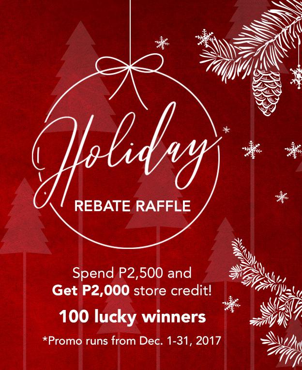 Holiday Raffle Rebate