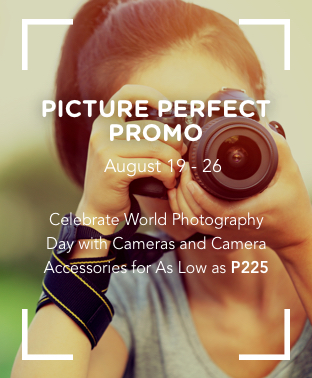 Cameras and Accessories as Low As P225!