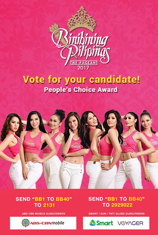 Cast your Vote for Binibining Pilipinas