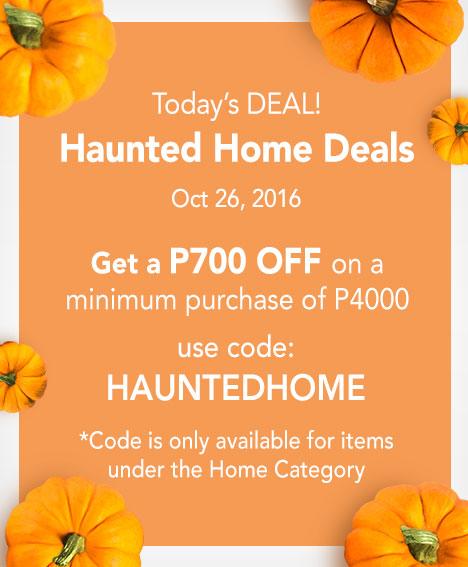 Haunted Home Deals!
