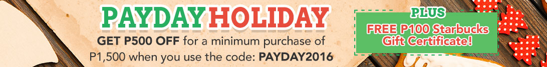 Payday Holiday Promo