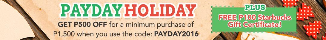 Payday Holiday Promo