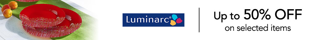 Luminarc 50%OFF