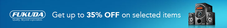 Up to 35% OFF on items from Fukuda!