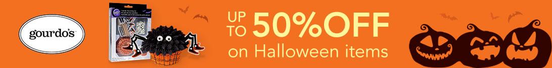 Gourdo's Halloween Sale