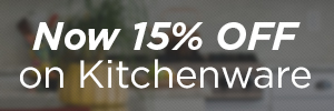 10% OFF Kitchen Sale: Use code LOVECOOKING