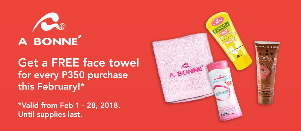 MIC: A Bonne Free Towel (Feb 1-28)