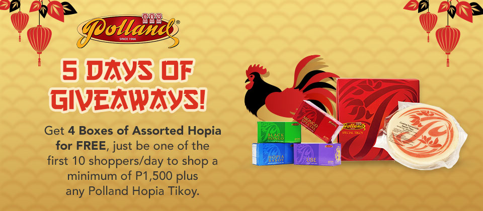 5 days of Giveaways - Polland Hopia