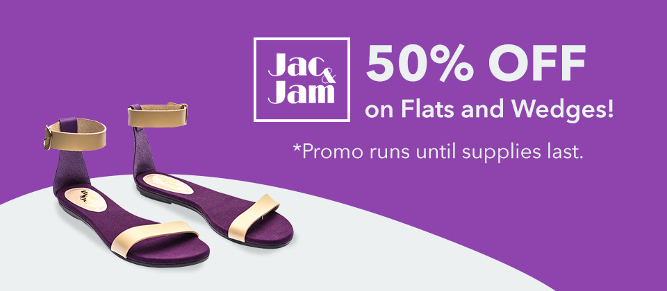 Jac & Jam 50% OFF