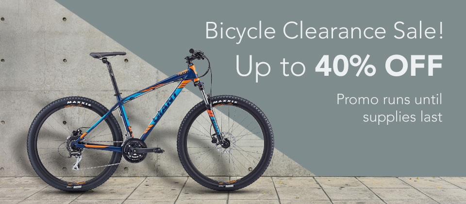 Up to 40% OFF on Bicycles