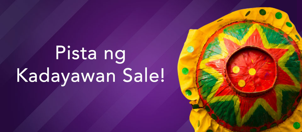 Pista ng Kadayawan Sale!