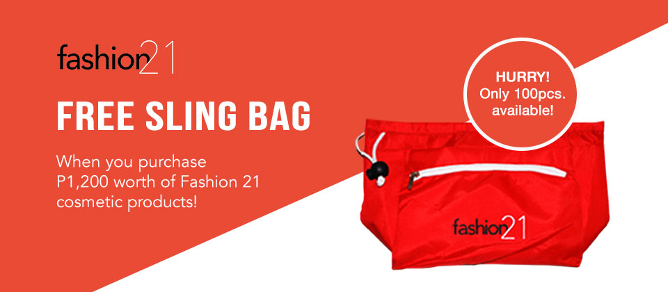 Fashion21 Gift with Purchase
