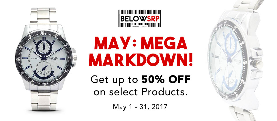 Below SRP May Markdown