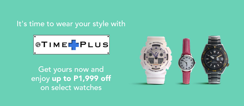 P1,999.00 OFF for Seiko Watches!