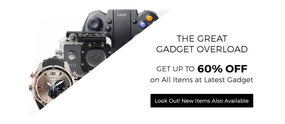Up to 60% OFF on gadgets!