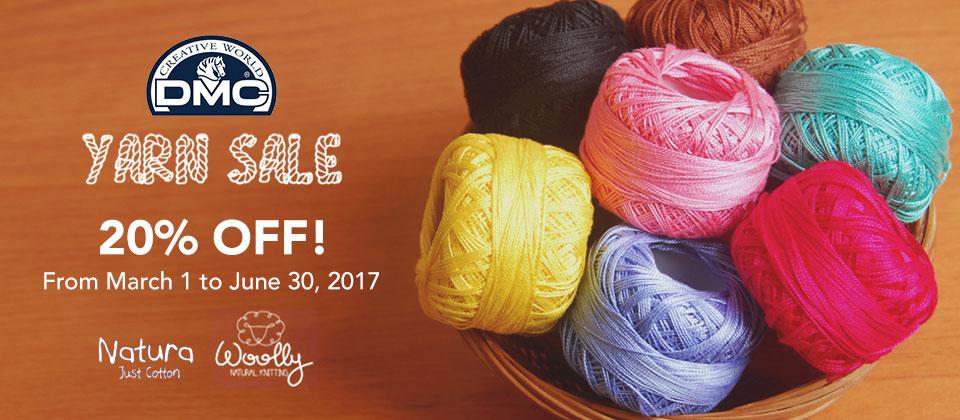 DMC Yarn Sale!