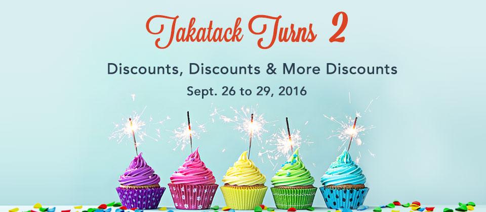 Takatack Turns Two