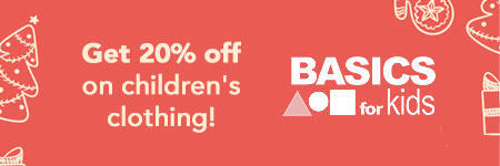 Basics for Kids Holiday Sale