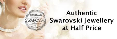 Authentic Swarovski Jewellery at Half-Price