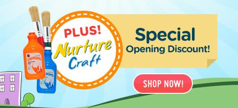 Nurture Craft Special Opening Discount