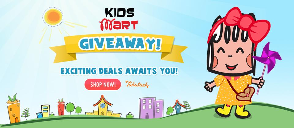 Kids Mart Giveaways!