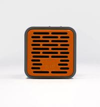 Qub One Bluetooth Speaker (Orange)