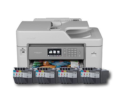 Brother Printer Mfcj5830dwxl Wireless Color Printer With Scanner