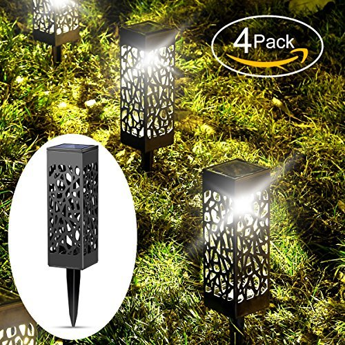 Solar lights outdoor garden powered path lighting solar glow led pathway lights front gate bright solar landscape