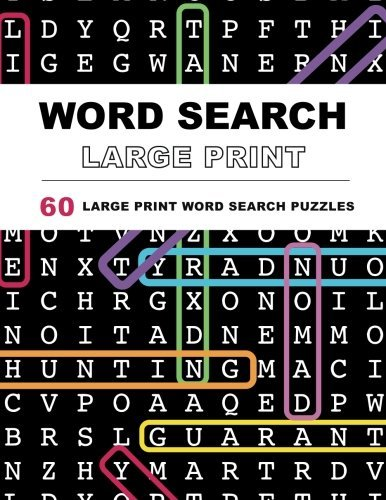 Adult word search puzzle