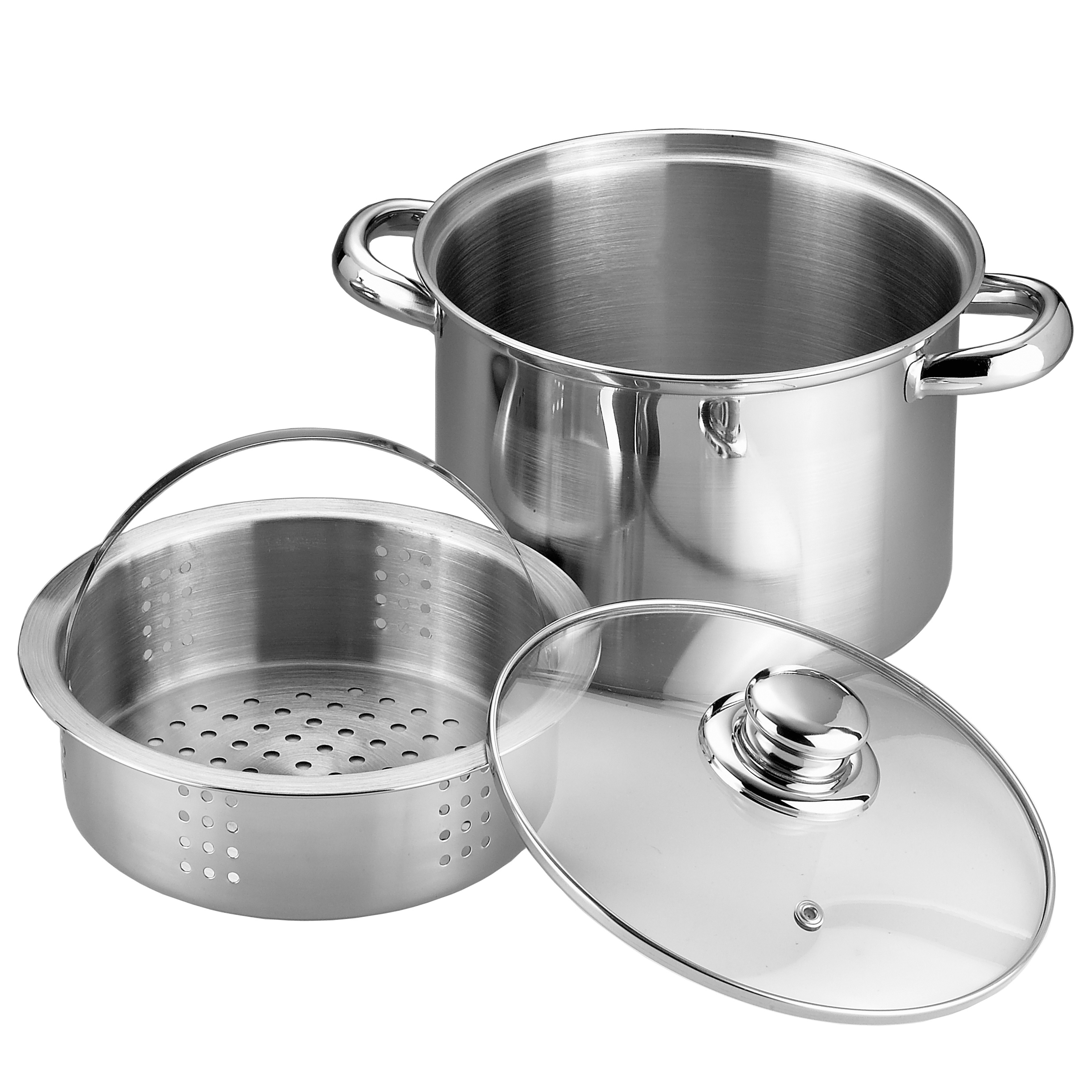 20CM PASTA POT AND STEAMER (SS-B024)