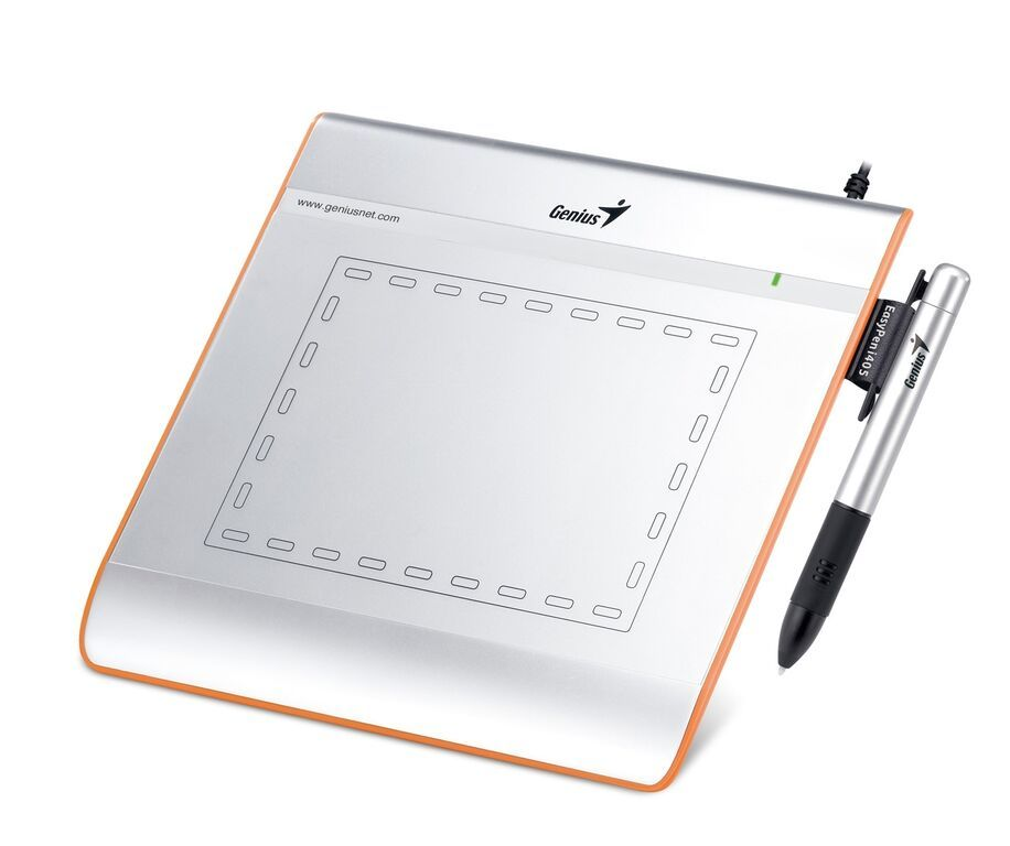 """Genius Easy Pen i608 6""""x8"""" Graphic Tablet with Pen & Mouse"""