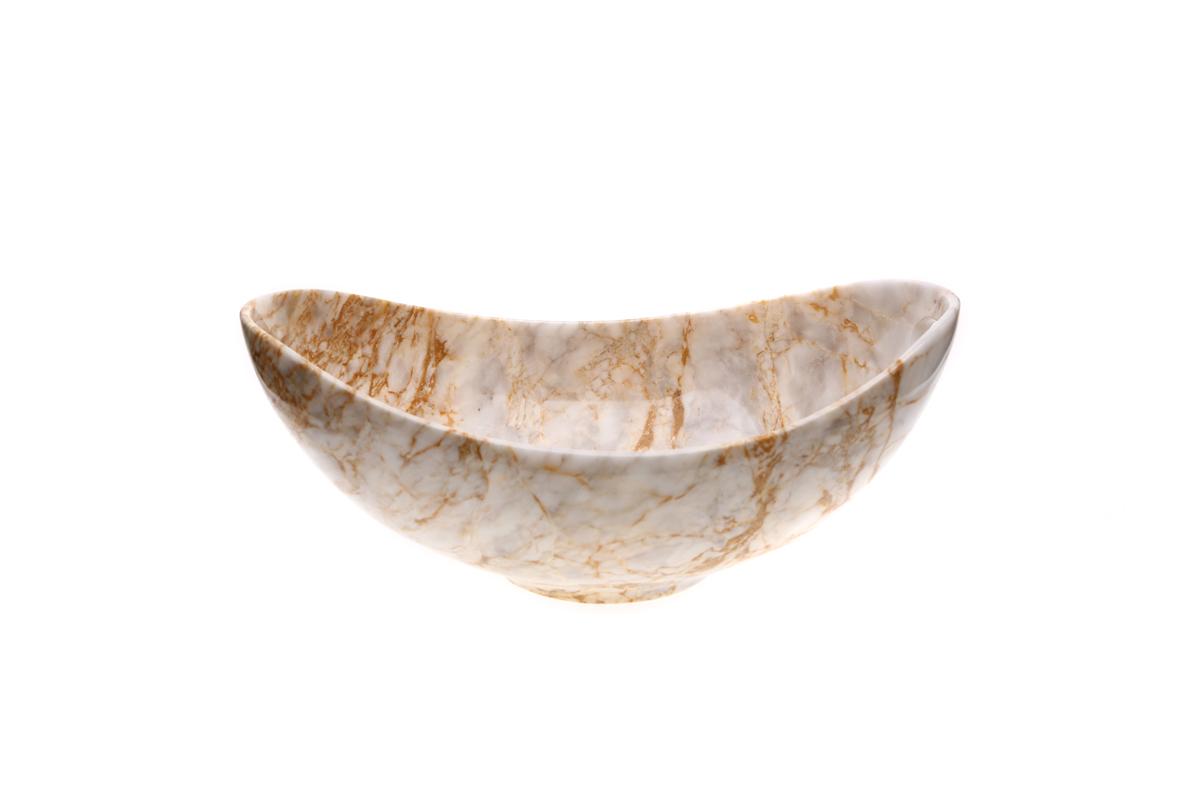 Marmol Stonework Marble Duyan Bowl Century (MDUYBW-C)
