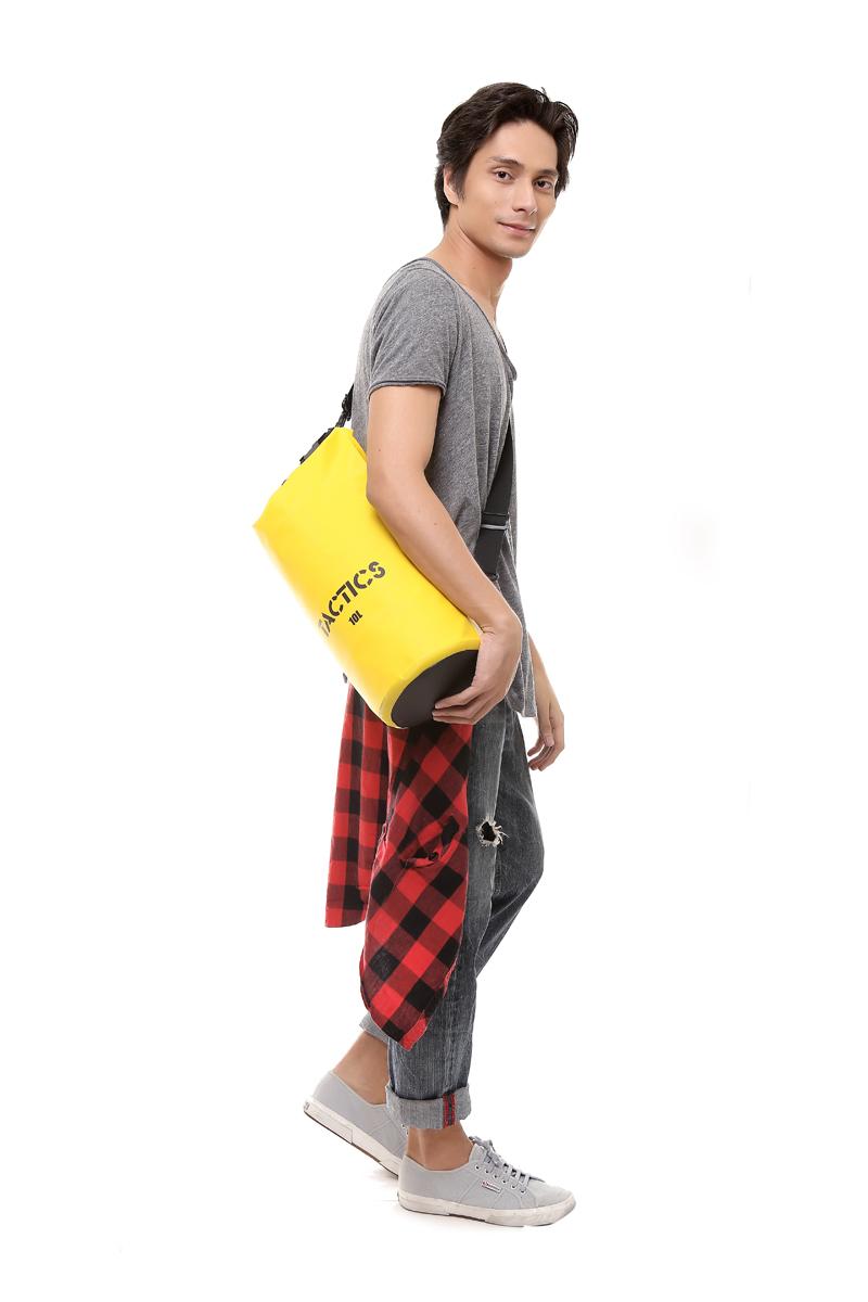 Tactics Waterproof Dry Bag 10L (Yellow)