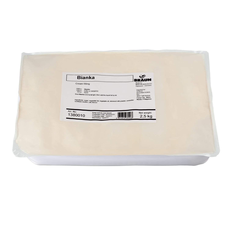 Bianka MB Buttercream Base Cream Filling