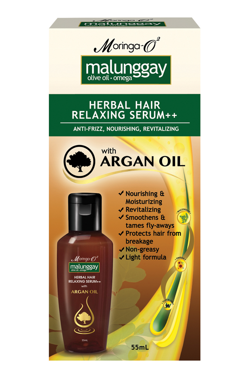 Moringa- O2  Malunggay Herbal Hair Serum (55 ml)