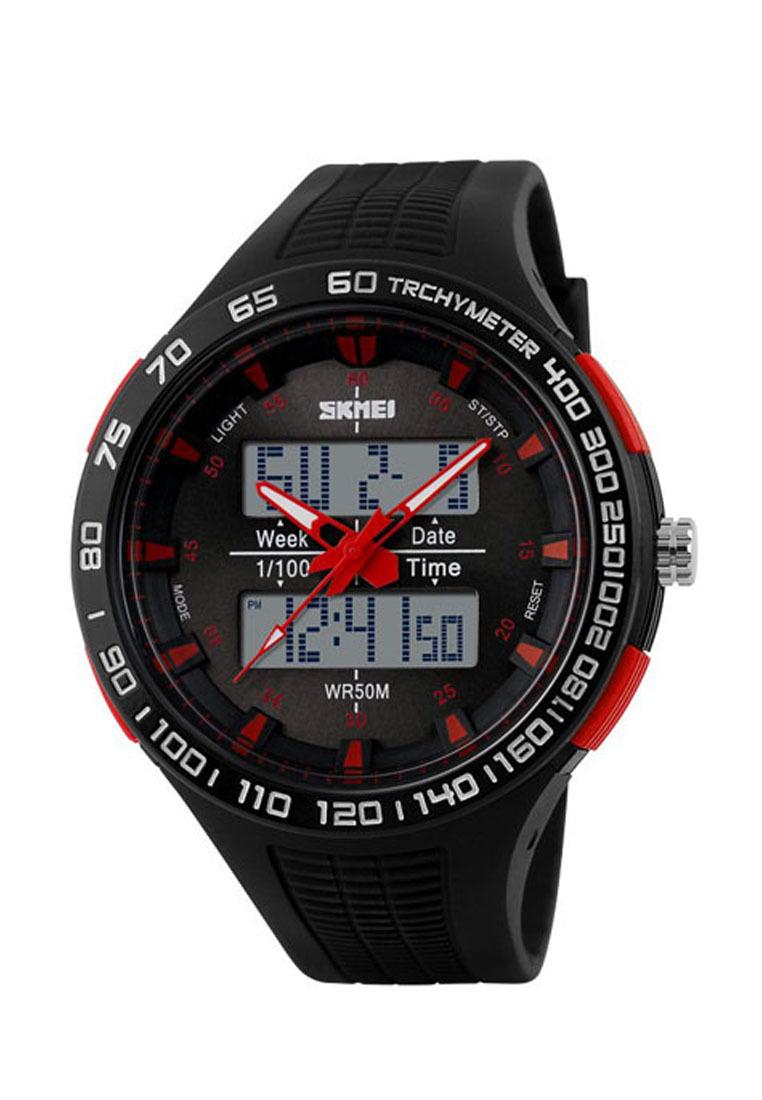 Часы наручные мужские спортивные водонепроницаемые