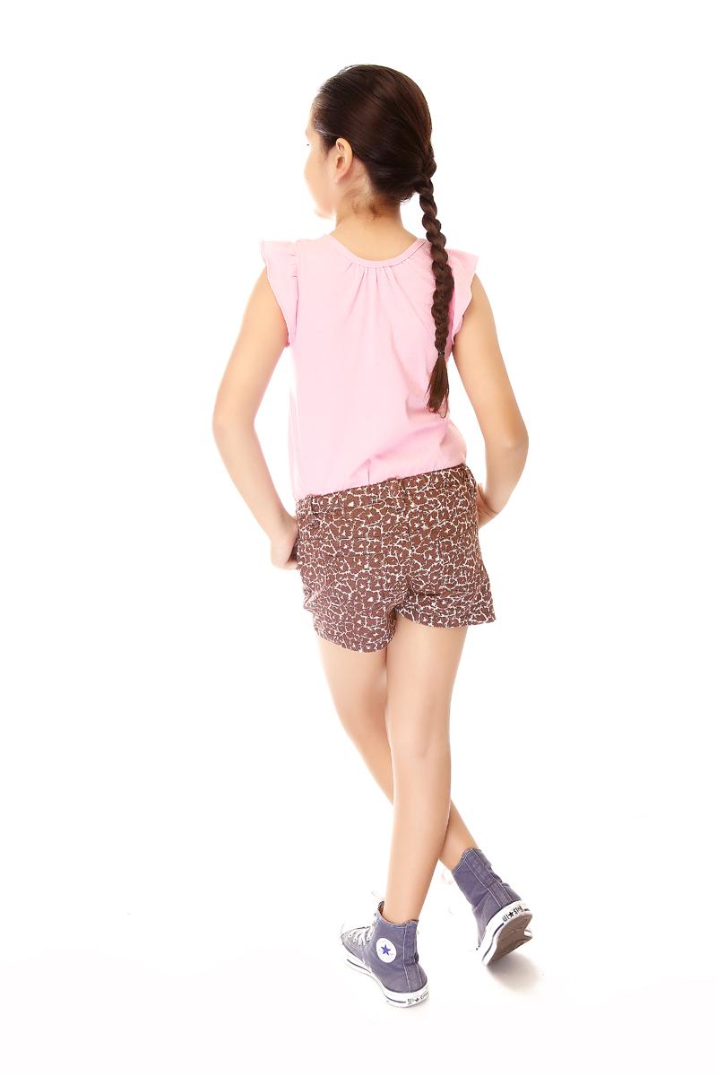 BASICS FOR KIDS GIRLS SHORT - BROWN (G502286 - G502296)