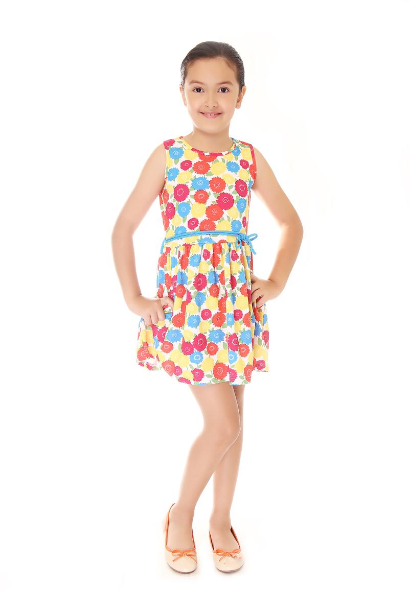 BASICS FOR KIDS GIRLS DRESS - YELLOW (G904624 - G904634)