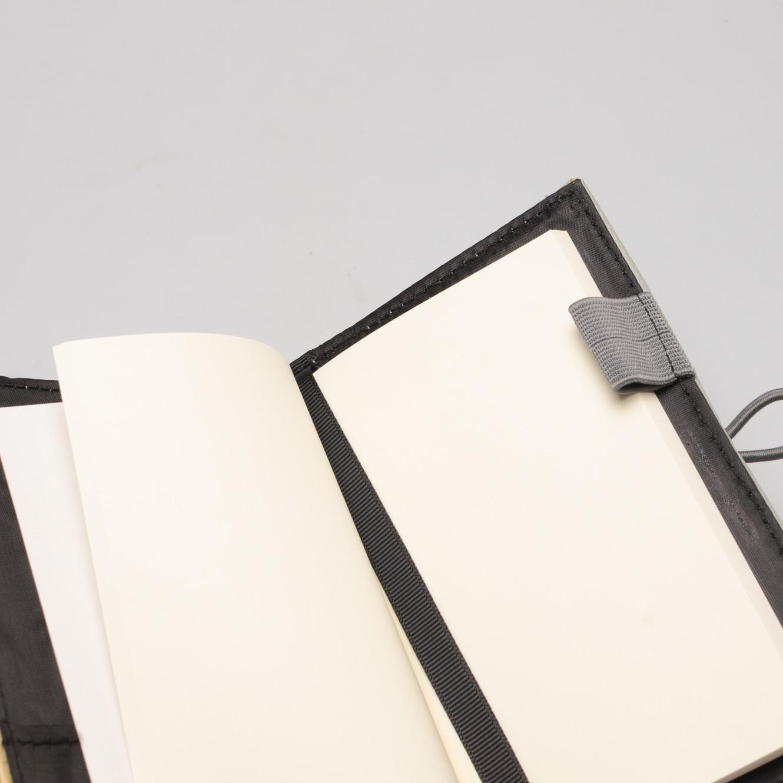 J&L Pinto Mini Journal/Passport Sleeve (Ash Grey)
