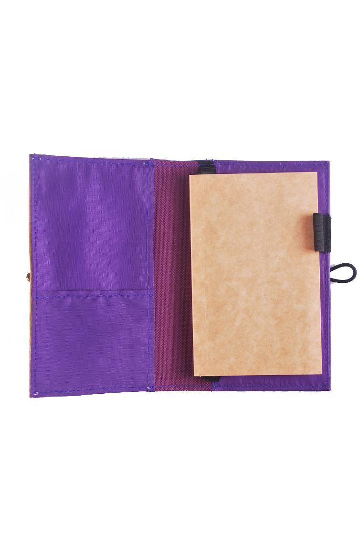 J&L Pinto Mini Journal/Passport Sleeve (Amethyst Violet)