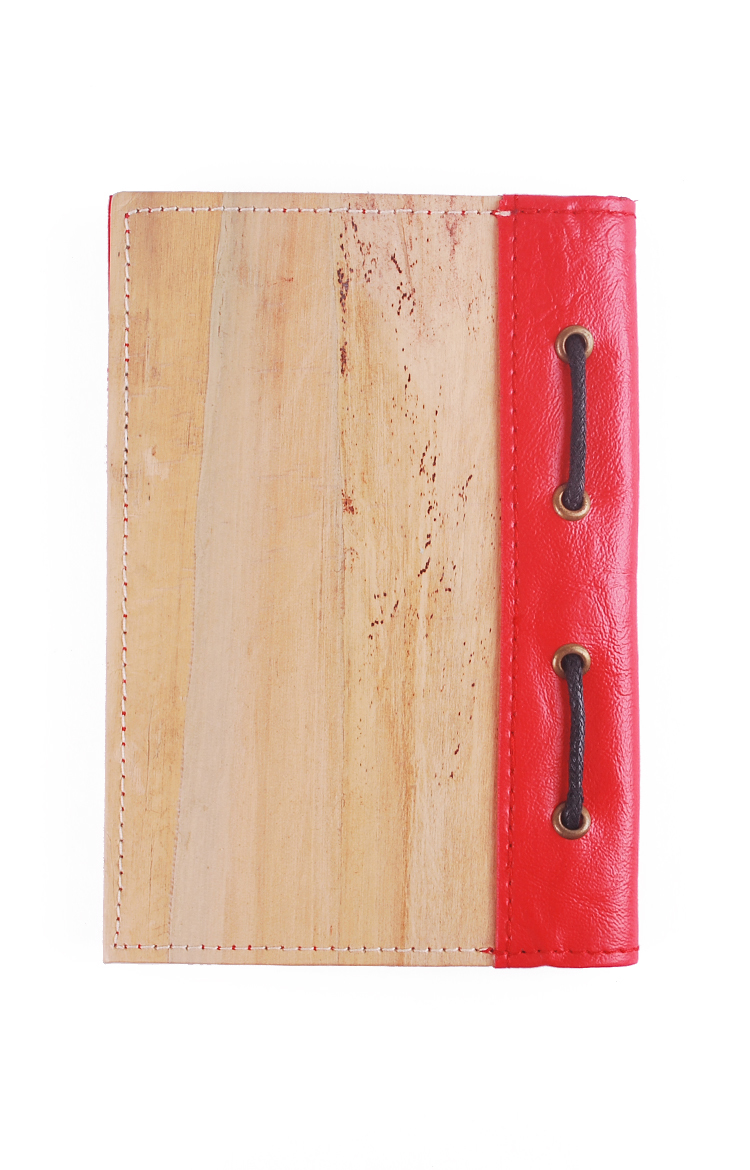 J&L Spes Mini Passport/Journal Sleeve (Red)
