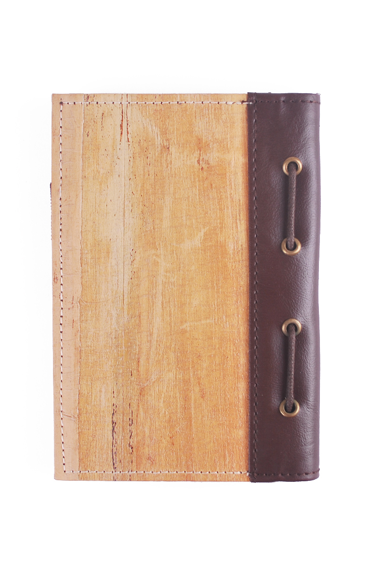 J&L Spes Mini Passport/Journal Sleeve (Brown)