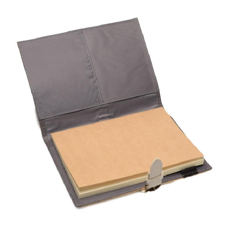 J&L Pacem Medium Refillable Journal (White)