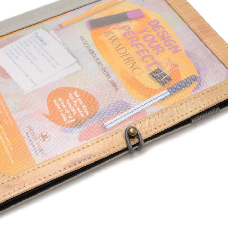 J&L Pinto Medium Journal (Ash Grey)