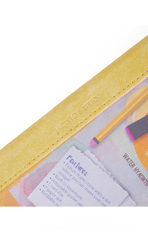 J&L Pinto Medium Journal  (Citron Yellow)