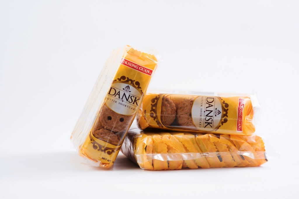 Khong Guan Dansk Butter Shortcake Cookies (DSK-10) 20 g x 10 packs