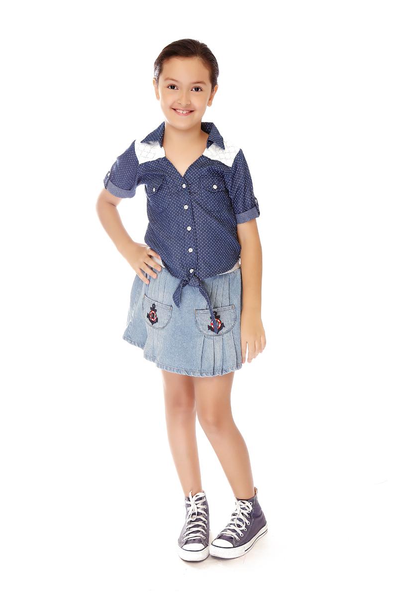 BASICS FOR KIDS GIRL SKIRT - BLUE (G704555-G704565)